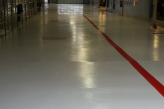 car dealership concrete coating