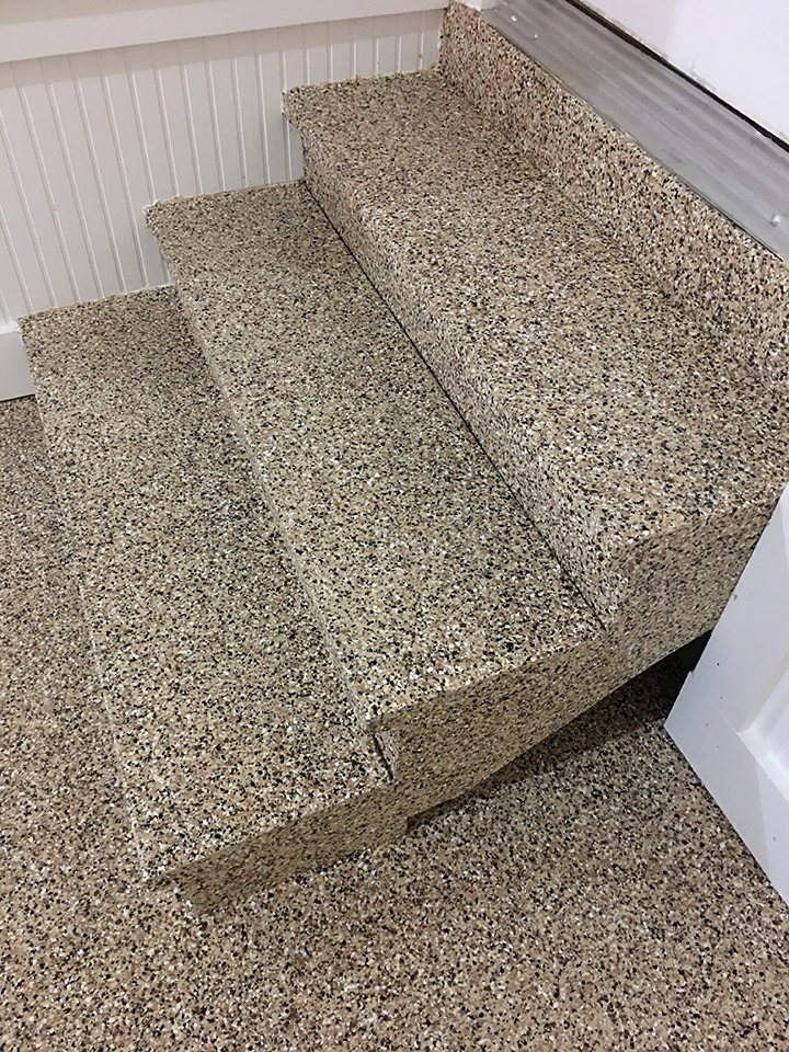 Residential Garage Stairs